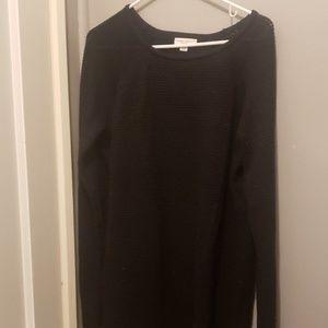 Black Shimmer Liz Lange Maternity Sweater